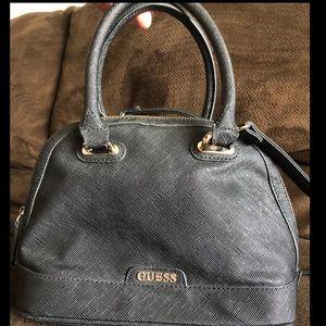 Black GUESS Shoulder Bag